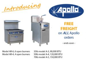 JLA Equipment Distributors' May promotion